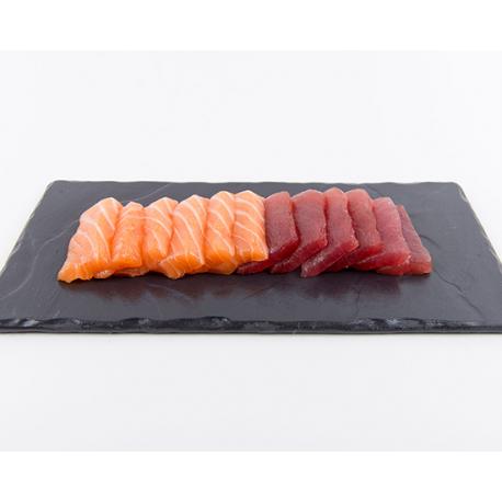 Sashimi Mix Thon & Saumon 12 pièces + 1 Riz - SushiC
